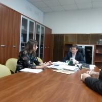Рабочая встреча главного ветеринарного врача Люберецкой ветеринарной станции с заместителем главы администрации городского округа Люберцы